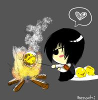 FRYING HIBIRD by chobitsG