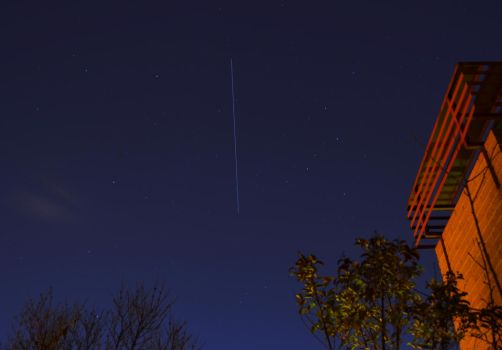 ISS fly by Spain by Dragon181