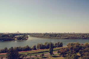 Danube and Sava by rayxearl