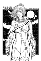 Phyla-Vell - June 2012 Sketch-a-Day 05 by JeremiahLambertArt