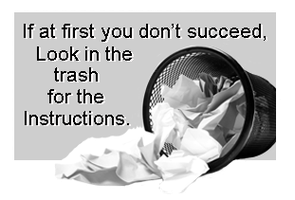 Trashy Instructions by Loulou13