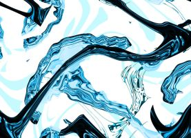 Water abstract by AniCyborg
