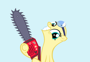 Chainsaw Good by BatmanBrony