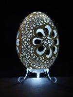 carved goose eggshell 20082012 by peregrin71