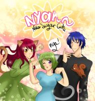 Nyan~ Neko Sugar Girls - A Very Neko Anime by ChibiStarProductions