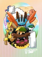 My Planned Team For Pokemon Alpha Sapphire by Khrisanthemum