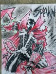 Spawn commission  by DamageArts