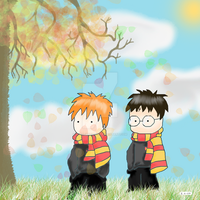 harry and ronald by TussenSessan
