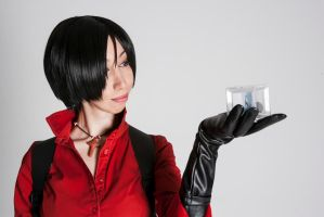I'm sorry for you, but I am the real Ada Wong by MayaTakeuchi