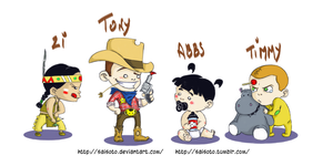 NCIS Kids by Saisoto