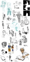WC Doodle Dump by TheToshihiko