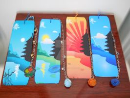 Japanese season-bookmarks by SamuelDesigns