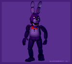 Bonnie the Bunny by Bluminescent