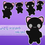 Cute Cats PNG by NyaAkemiChan