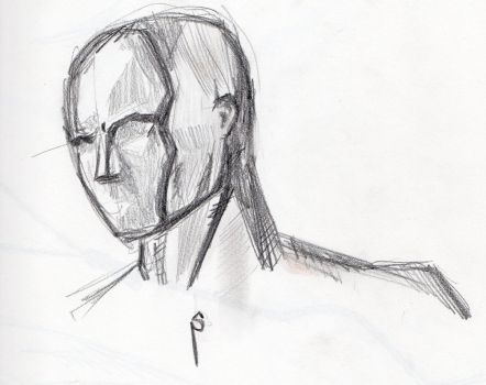 New Pencil- head study by DoYouHaveYourTowel42