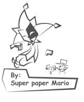 By: Super Paper Mario by miju22