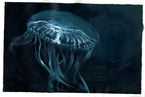 Lonely Jellyfish by Khaiya