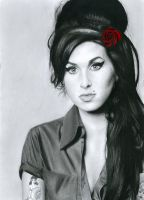 Amy Winehouse by VegemiteGangsta