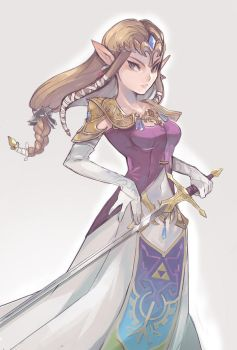 Princess Zelda by AlpacaCarlesi