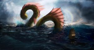 Sea Serpent by jjpeabody