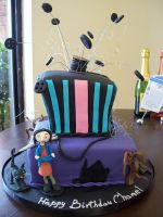 Coraline Cake by see-through-silence