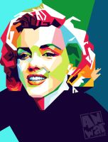 marilyn Monroe by Bara-art