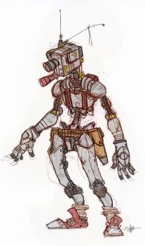 Scoutbot by MechanicalLion