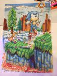Summer Of Sonic 2016 Hill top sonic by IceBridget