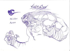 Victor Creed in Glabro Bastet by BaianoFC