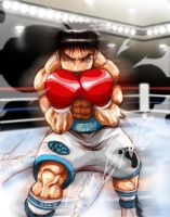 ippo makunouchi by darkeyez07