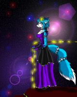 Krystal in a ball gown by Zuelo-B-Riddick