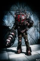 Big Daddy Bioshock Cosplay by Dominiquefx