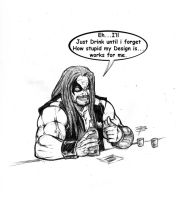 LoBo at the Bar by FooRay