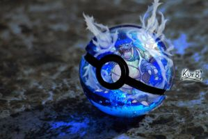 Blastoise Pokeball by KurB1