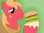 Big Mac, with a Big Mac. by TwopennyPenguin