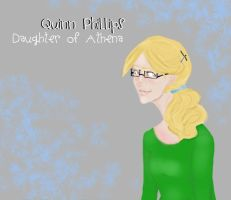 Quinn, Daughter of Athena by Funnygirl345