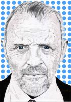 Anthony Hopkins by Cleitus