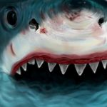 Canvas Coolers Shark by J-ohimbi-n