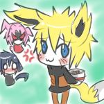 The story of the fox the cat and the ramen bowl by itasasu2002