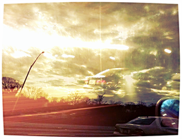 Driving Into The Winter Solstice 2013 by 3361001