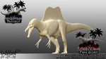 Spinosaurus Progress 02 (New Version) by Tea-rexx