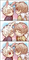 APH: Kiss Me Baby by xiaoyugaara