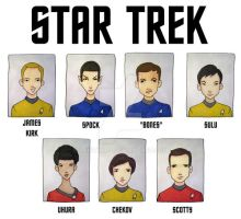 STAR TREK TOS by BantamBB