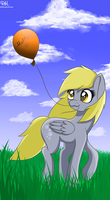 Derpy by DitzyHooves