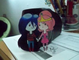 Chibi Bubbline Paper Children by Chiherah