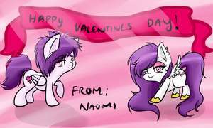 Happy Valentines day! -Naomi by DafinasPride