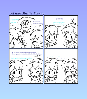 Pit And Marth: Family by CutieSweetCakes