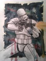 StarWars StormTrooper Comission by JoeyLeeCabral