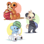 bears by MagicalZombie
