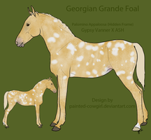 Point Adopt - Georgian Grande Foal 2 by painted-cowgirl